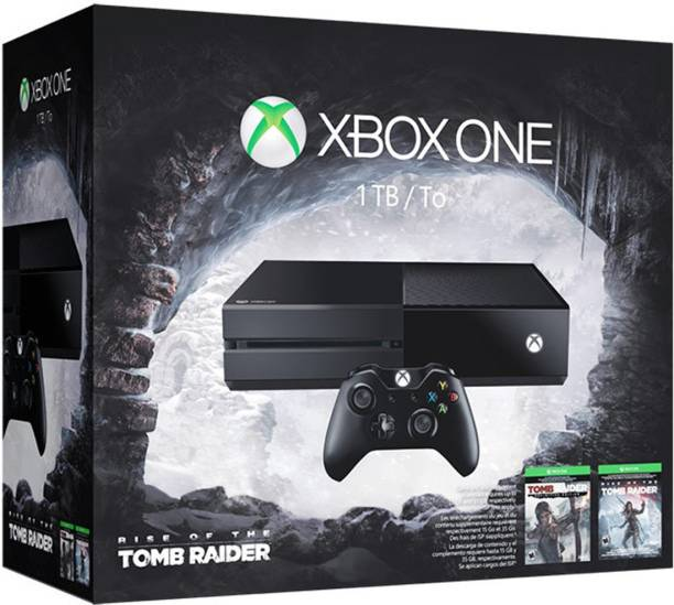 MICROSOFT Xbox One 1 TB with Rise of the Tomb Raider