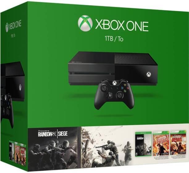MICROSOFT Xbox One 1 TB with Tom Clancy's Rainbow Six Siege
