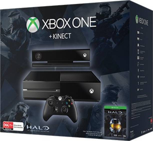 Microsoft Xbox One 500 GB & Kinect with Halo The Master Chief Collection