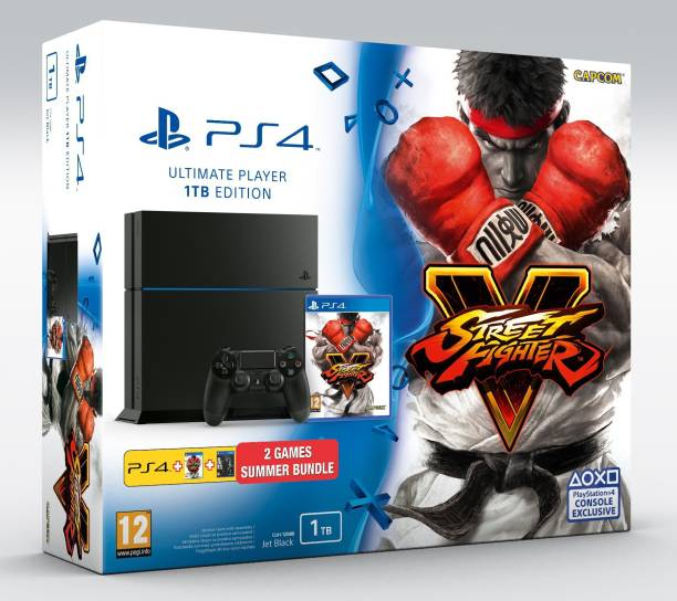 SONY PlayStation 4 (PS4) 1 TB with The Last of Us Remastered and Street Fighter V