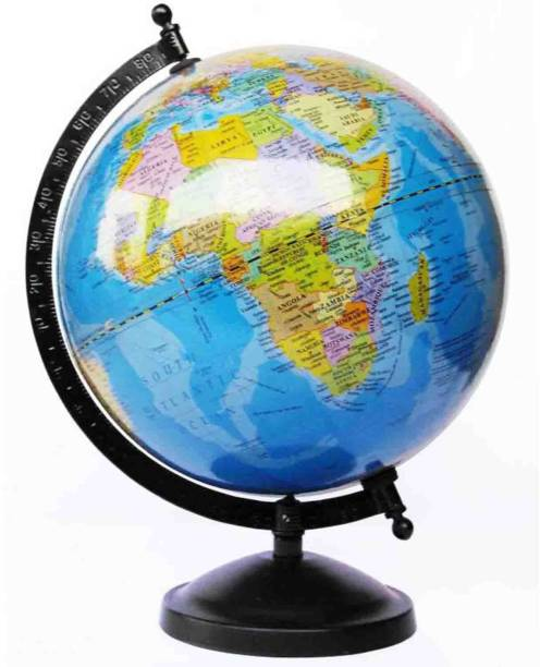 Globes buy globes online at best prices in india flipkart thunderfit original globe table top political world globe gumiabroncs Image collections