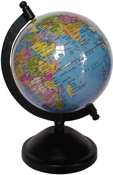 Globes buy globes online at best prices in india flipkart cart4craft laminated blue student globe desk table top political world globe gumiabroncs Gallery