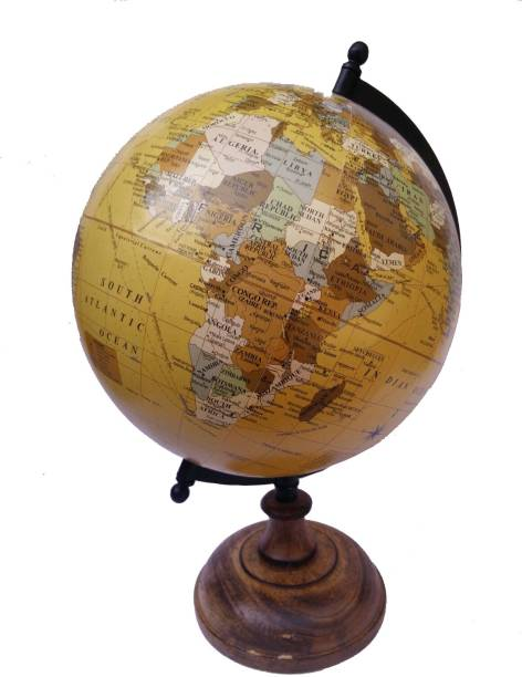 Globes buy globes online at best prices in india flipkart cart4craft decorative antique shed desk table top political world globe gumiabroncs Gallery
