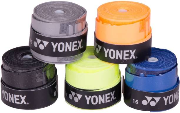 Yonex ET 902 E Super Smooth Tacky Multicolor, Pack of 5