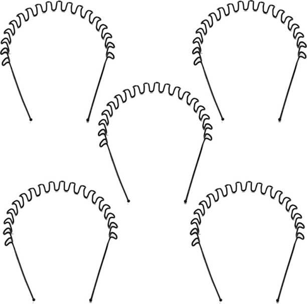 Style Tweak ZigZag Wave - Set of 5 Hair Band