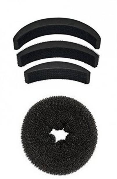 Majik Combo Of Donut And Puff Hair Accessory Set