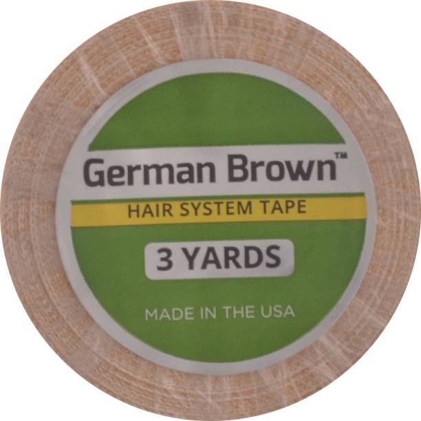 "WALKER TAPE Tape Roll German Bron 1""- 3 Yards Hair Accessory Set"