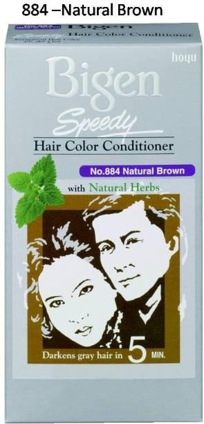 Bigen Speedy No. 884 , Natural Brown