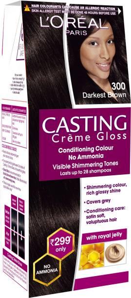 L'Oréal Paris Casting Creme Gloss , Darkest Brown 300
