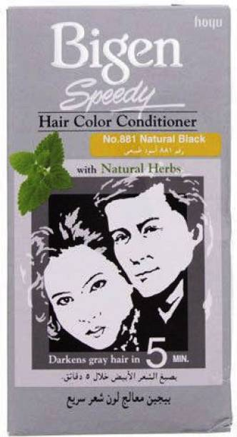 Bigen No:881 Natural Black , Natural Black