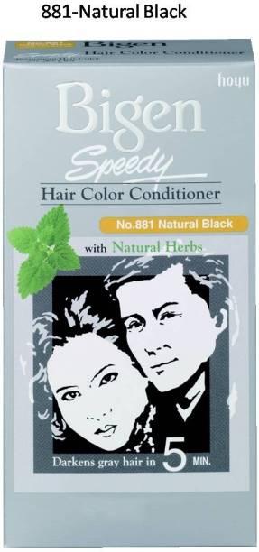 Bigen Speedy No. 88 , Natural Black