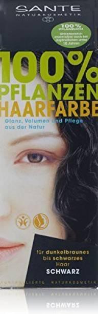 Sante Herbal Hair Color, Black, 3.52 Ounce , Black