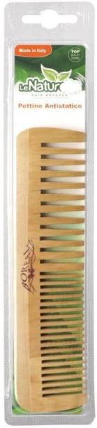 Boreal Family Model Individual Packing Wood Comb Le Naturelle Display