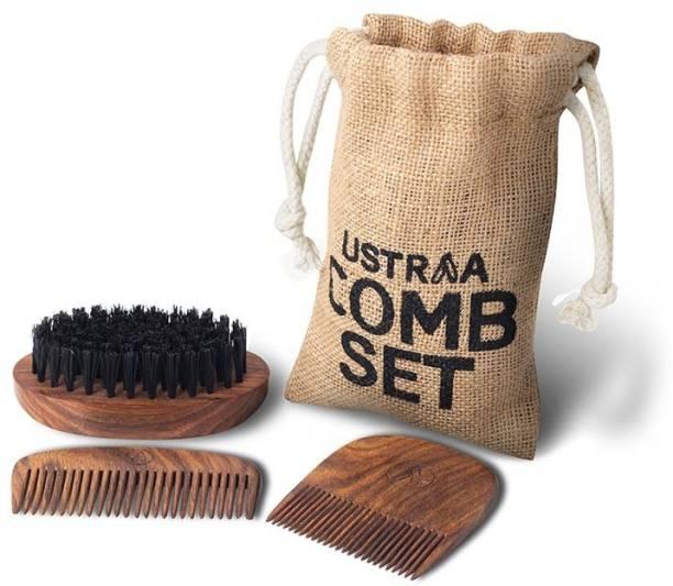 USTRAA Beard Comb Set