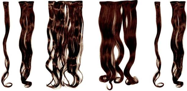BLOSSOM Imported Quality 6pc set curly wavy 24 inch Hair Extension
