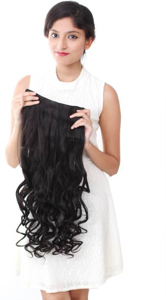 Ritzkart Womens Half hi quality Synthetic extn Hair Extension