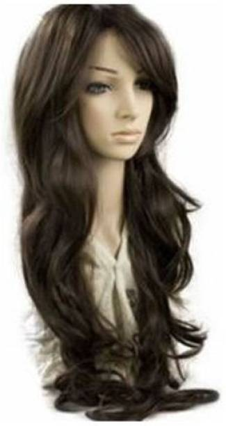 BLOSSOM Long Curly Full Wig Hair Extension
