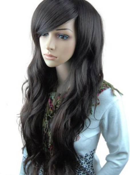 MelodySusie Long Full Wig Curl Wigs Hair Extension 2e87de20e