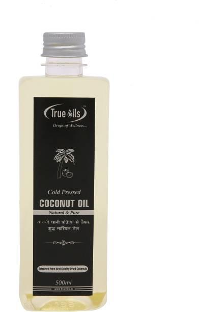 True Oils Coconut Oil (500 ml) Hair Oil