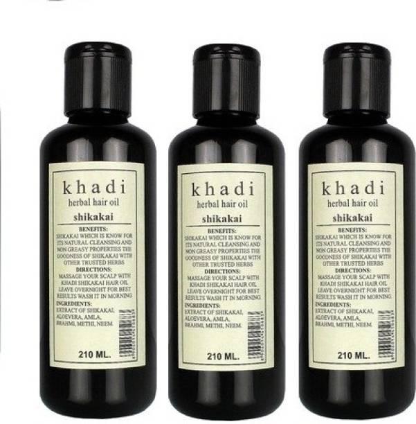 Khadi Herbal Shikakai  Hair Oil