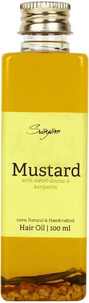 Svayam Natural MustardOil with Methidana and Karipatta Hair Oil