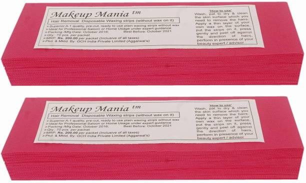 Makeup Mania Waxing Strips - Magenta-140 Pcs Strips