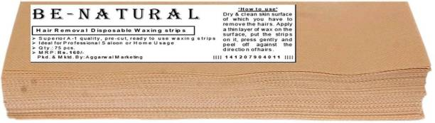 Be-Natural Waxing Strips Strips