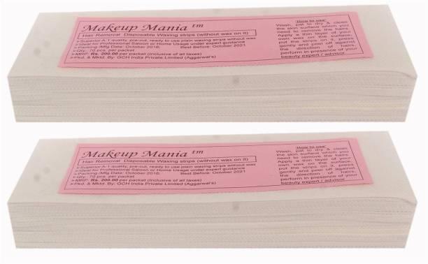 Makeup Mania Waxing Strips - White-140 Pcs Strips