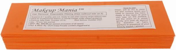 Makeup Mania Waxing Strips - Orange-70 Pcs Strips