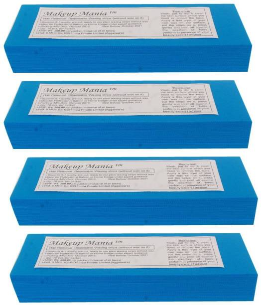Makeup Mania Waxing Strips - Blue-280 Pcs Strips