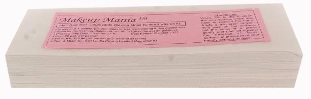 Makeup Mania Waxing Strips - White-70 Pcs Strips