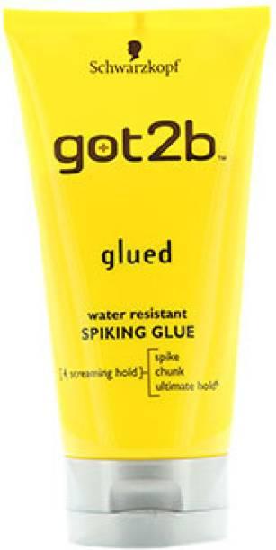 Schwarzkopf Got2b Water Resistant Spiking Glue Hair Gel
