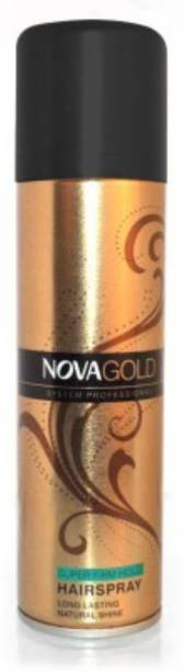 NOVA Gold System Professional Hair Spray - Super Firm Hold Hair Spray