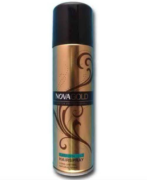 NOVA Gold Super Firm Hold Hair Spray