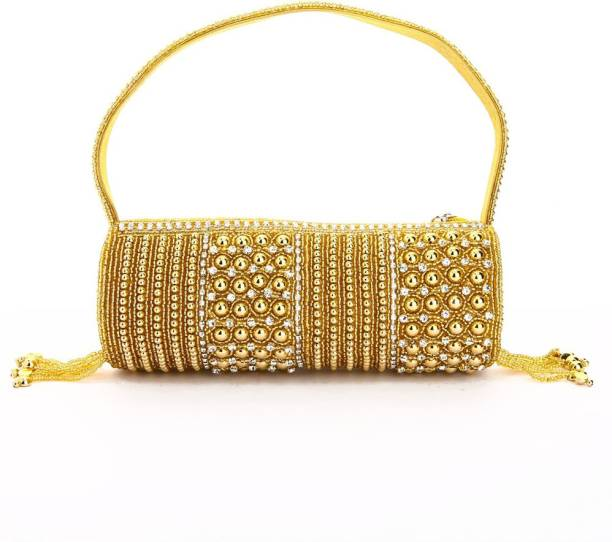 9e187247cfd4 Gold Handbags - Buy Gold Handbags Online at Best Prices In India ...