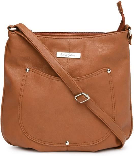 MAST & HARBOUR Brown Sling Bag
