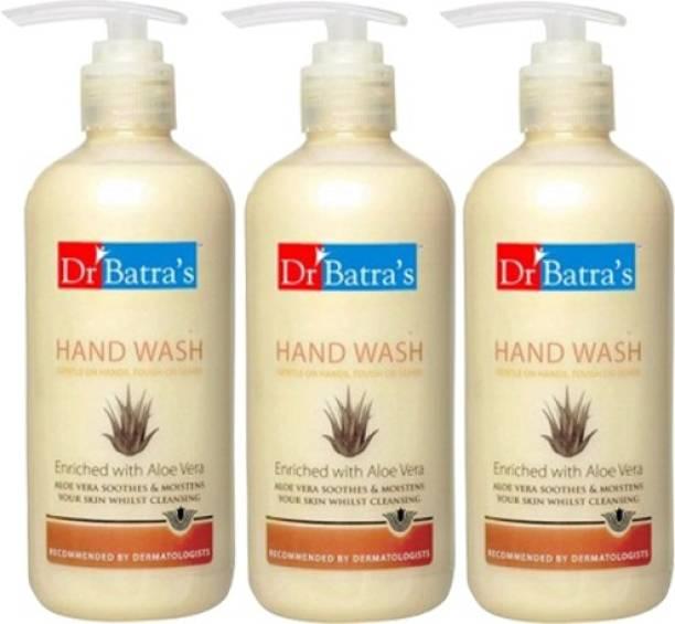 Dr. Batra's Aloe Vera pack of 3 Hand Wash Bottle