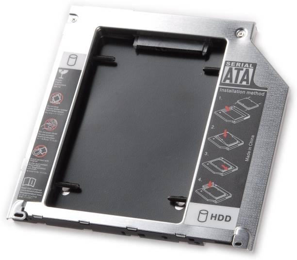 ADMI 9.5mm Unibody 2nd Hard Drive Caddy For Apple Unibody MacBook Pro 13 15 17 2.5 inch Internal Hard Drive Enclosure