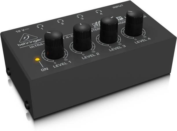 Behringer MICROAMP HA400 Studio Headphone Amplifier