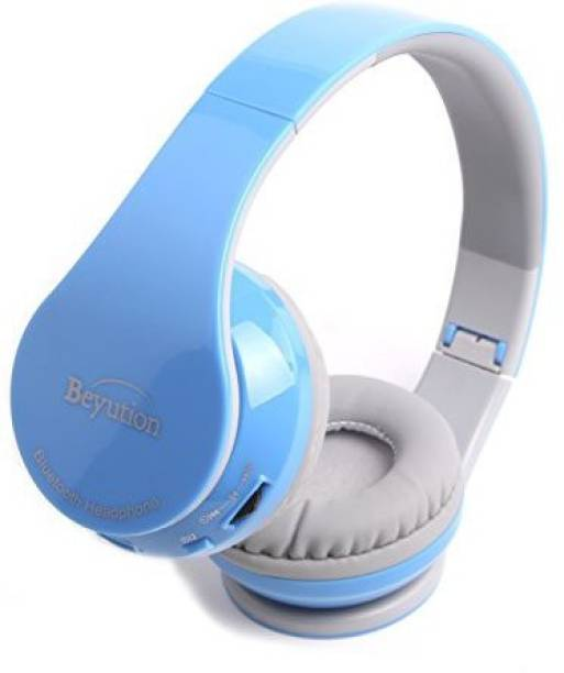 4abfd260f74a Beyution Xmas Gift---New 513 Blue  Smart Wireless Bluetooth Headphone Black  Color