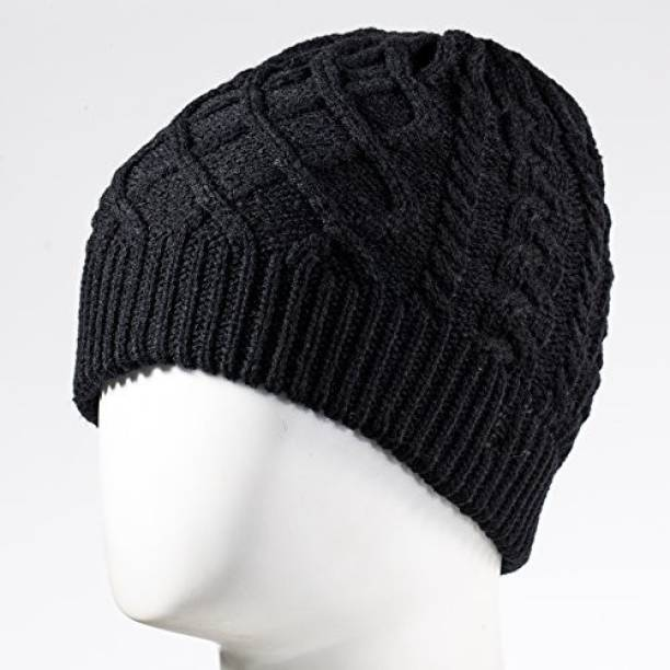 975261cd0bc Tenergy Braided Cable Knit Wireless Hands-Free Bluetooth Beanie Hat 52414 -  Black Headphone