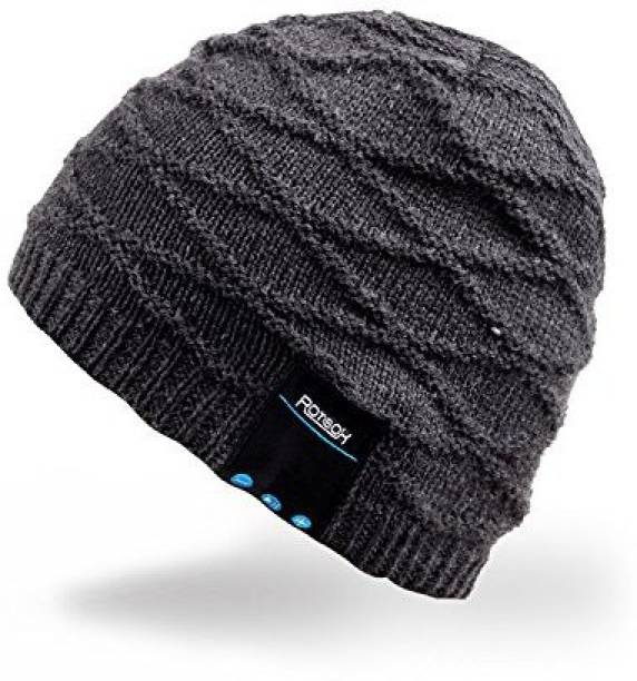 Mydeal Products Mydeal Winter Washable Bluetooth Music Beanie Warm Soft  Knitted Trendy Short Skully Hat Cap 48932a40c2c