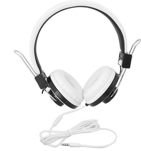 Inext IN 918 HP Wht Wired without Mic Headset