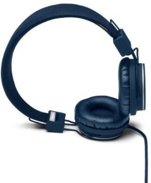 Urbanears Plattan Folding Over The Ear Headphones For Iphone Ipod - Indigo Headphone