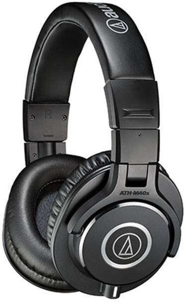 Audio Technica ATH-M40x Wired without Mic Headset