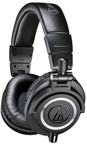 Audio Technica ATH-M50x Wired without Mic Headset