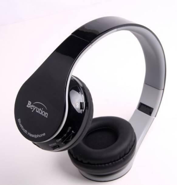 67db038baa10 Beyution New Black Stereo Hi-Fi Wireless Bluetooth 4.0 Headphones Headset  With Retail Package-