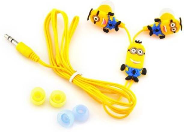 A Connect Z Cartoon Design Minions High Quality Clear sound Headst- 397  Wired Headset with b0f59d148e