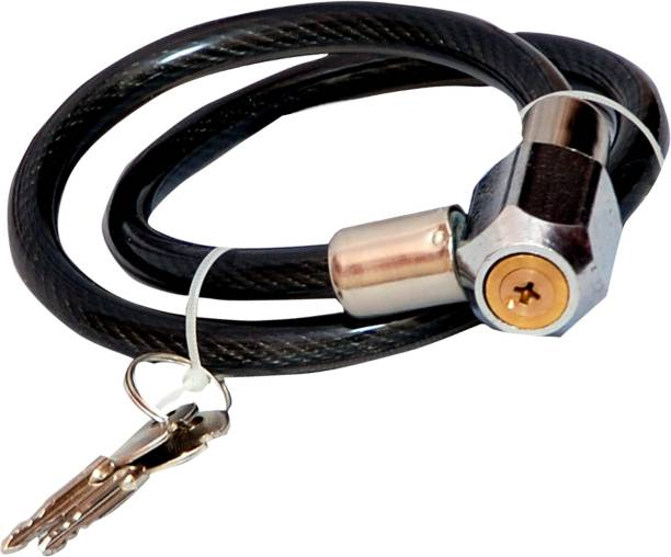 SBM Steel Cable Lock For Helmet