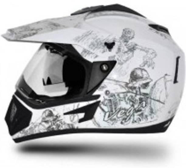 VEGA Off Road Sketch Motorbike Helmet